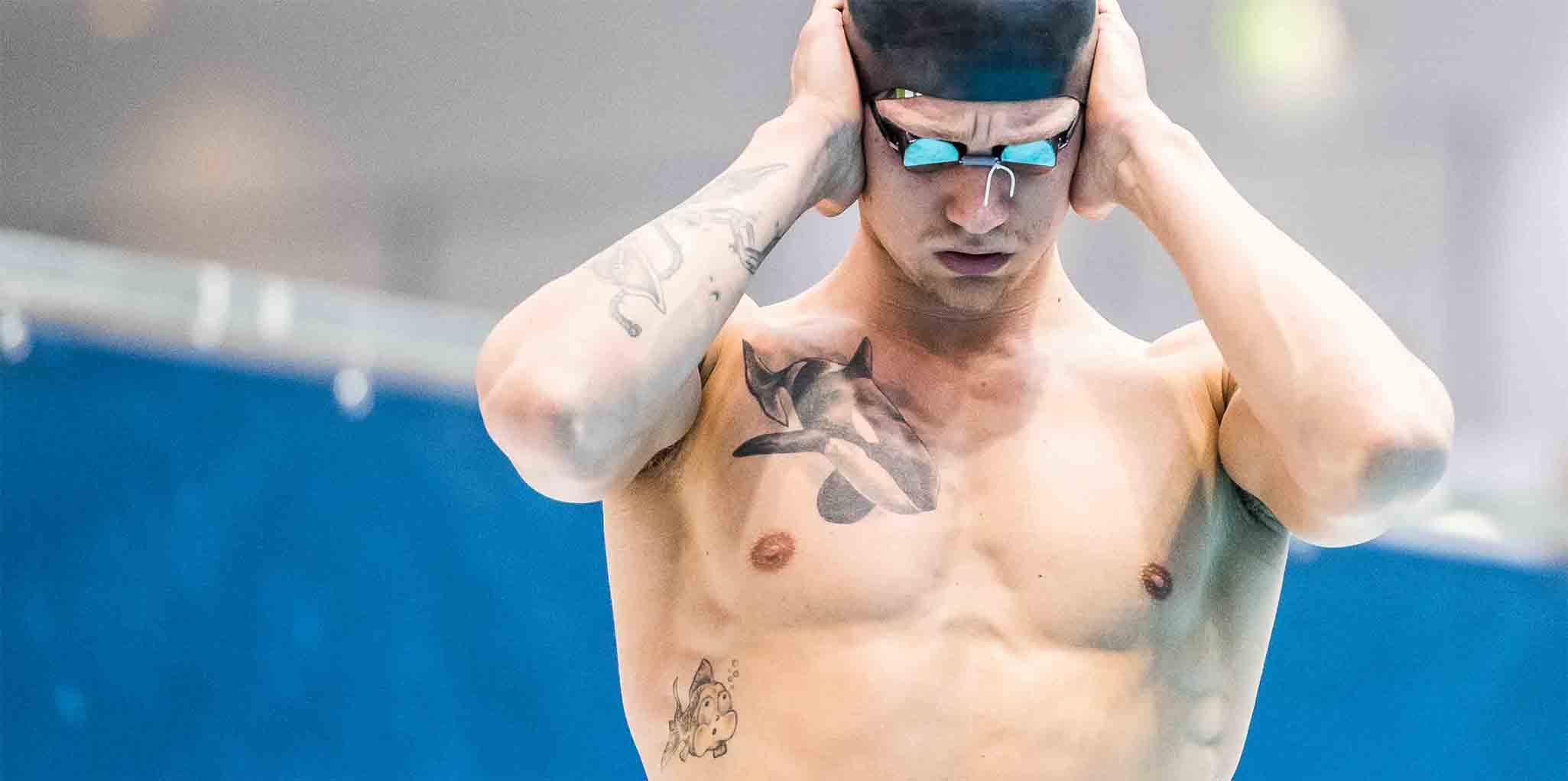Breite Schultern Dünne Knochen Was Schwimmen Mit Dem Körper Macht