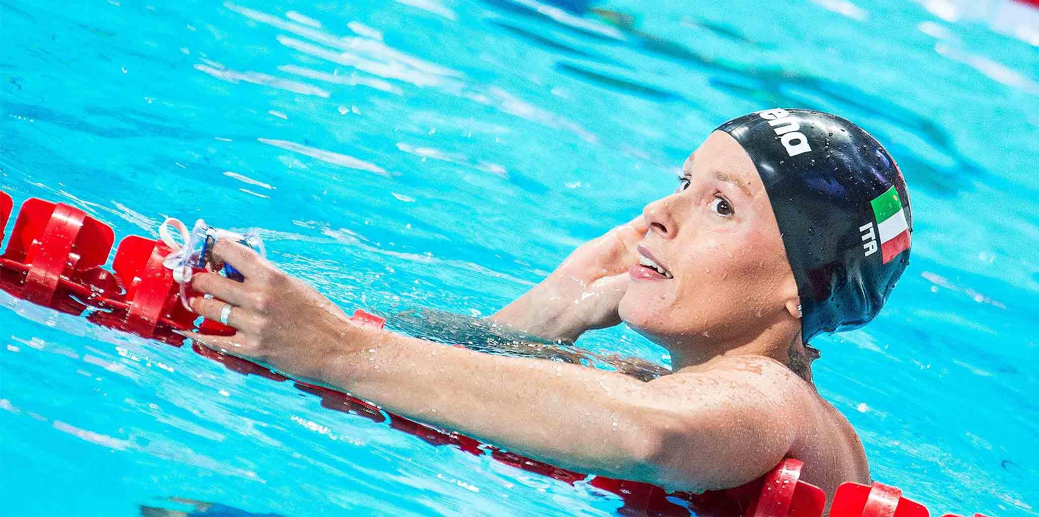 Federica Pellegrini Italiens Sportlerin Des Jahres 2017