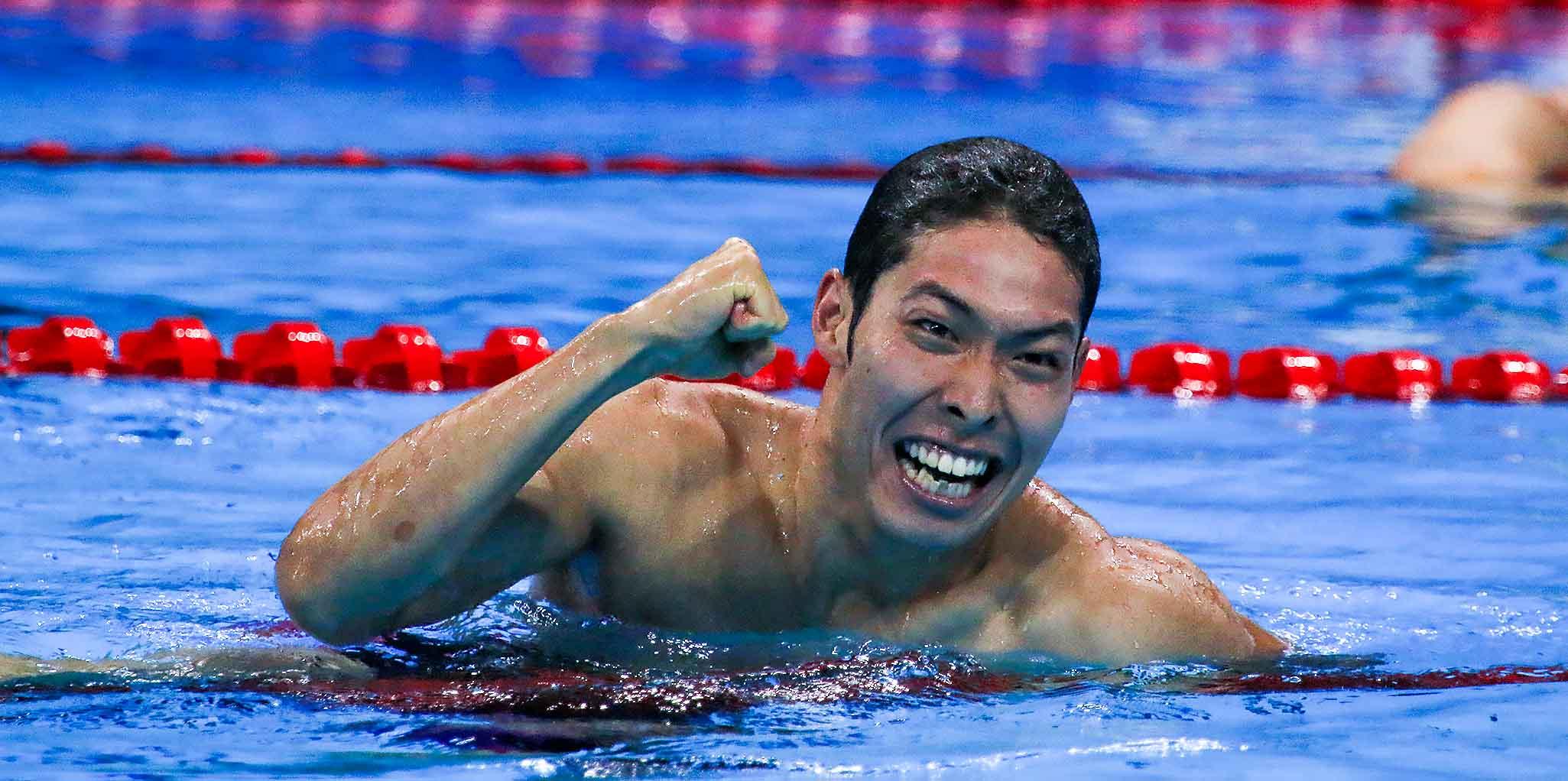 Kosuke Hagino meldet sich mit starken Leistungen zurück