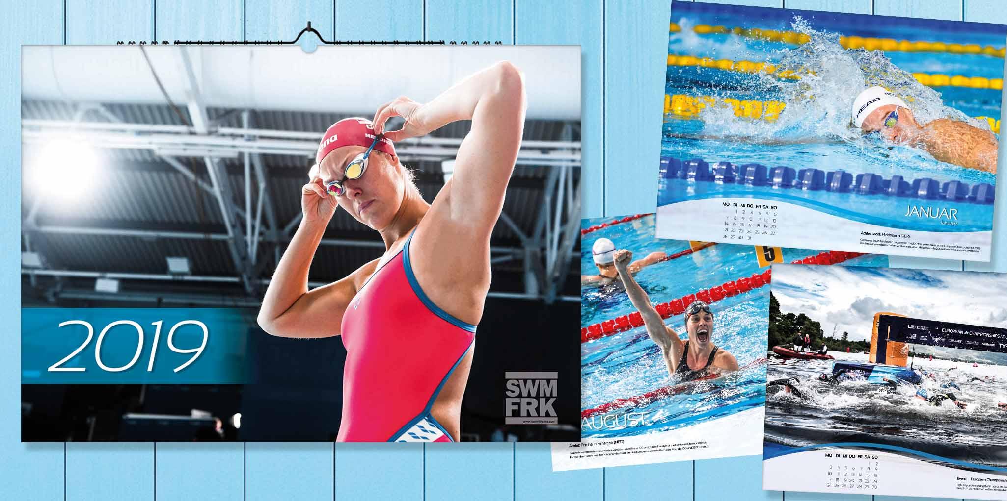 schaut ihn euch an der schwimm kalender 2019 ist da. Black Bedroom Furniture Sets. Home Design Ideas