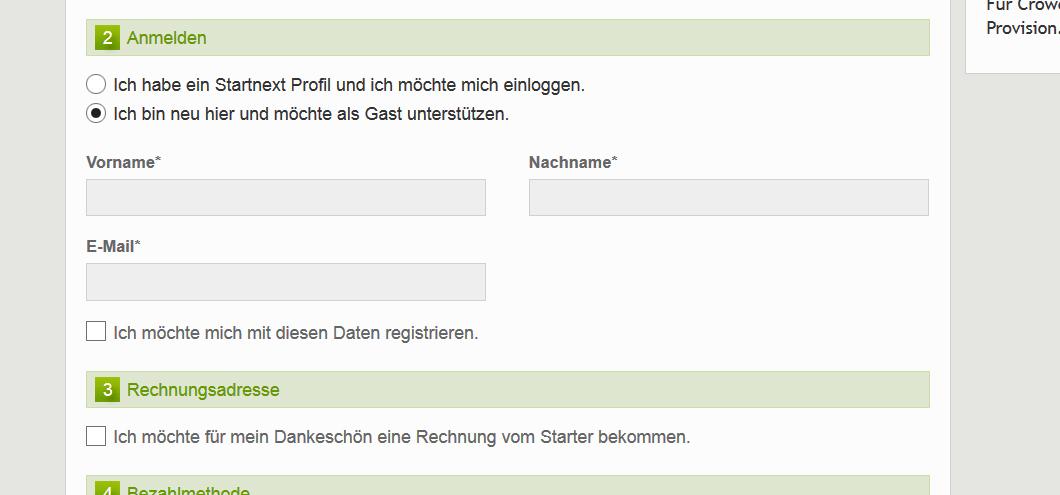 Namen Und E Mail Adresse Angeben